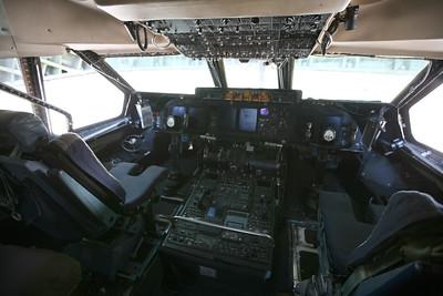 MIRAMAR, CA - The C-5 Galexey cockpit.