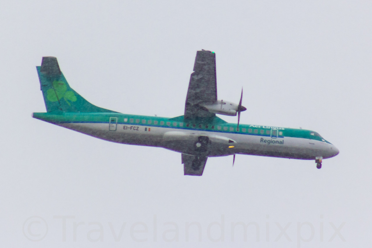 EI-FCZ Aer Lingus Regional (Stobart Air) ATR 72-600 Glasgow Airport 07/02/2017