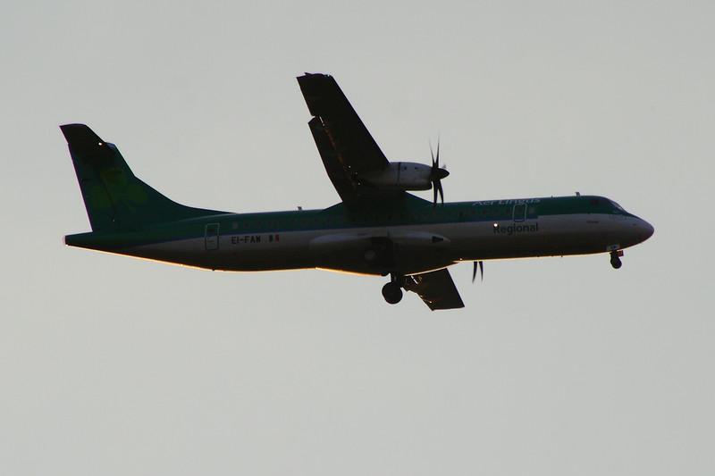 EI-FAW Aer Lingus Regional (Stobart Air) ATR 72-600 Glasgow Airport 23/07/2014