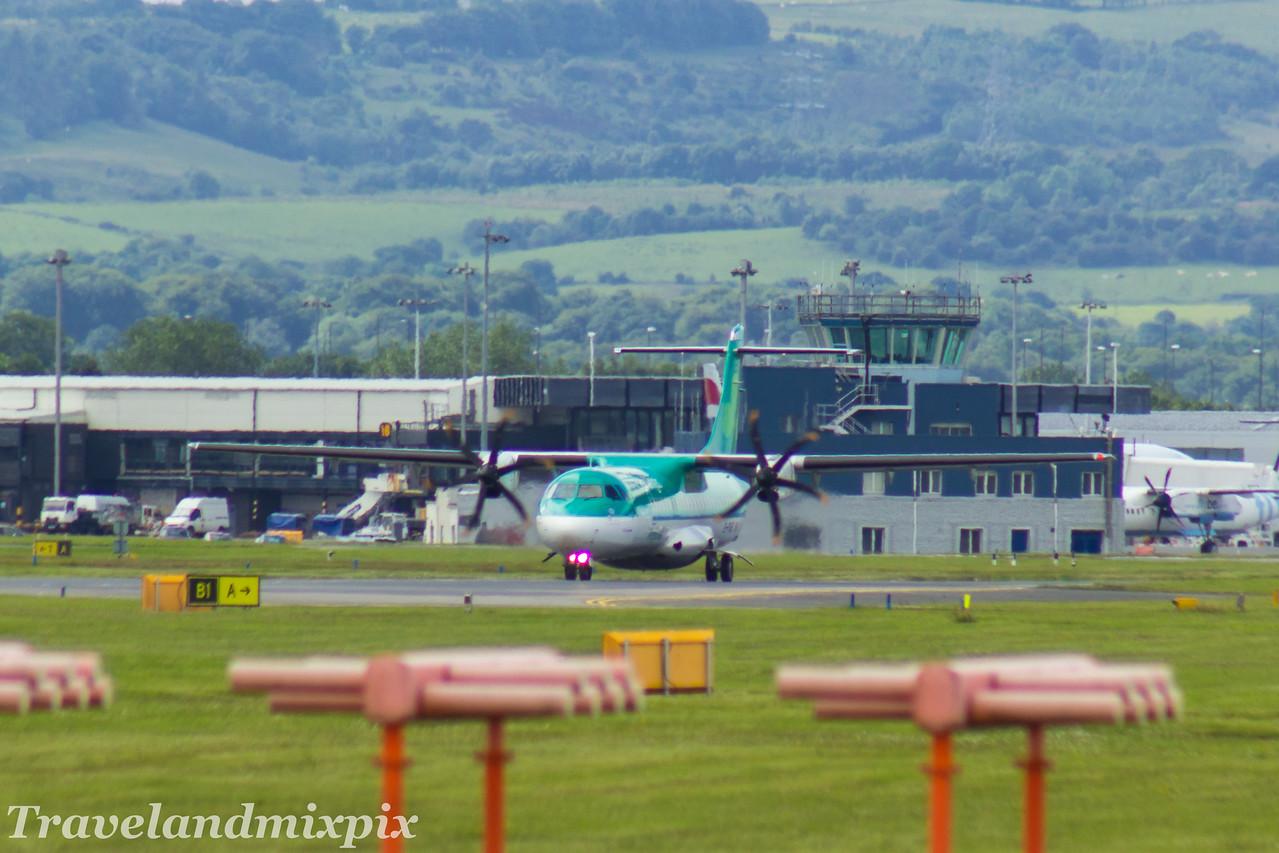 EI-FAS Aer Lingus Regional (Stobart Air) ATR 72-600 Glasgow Airport 24/06/2017