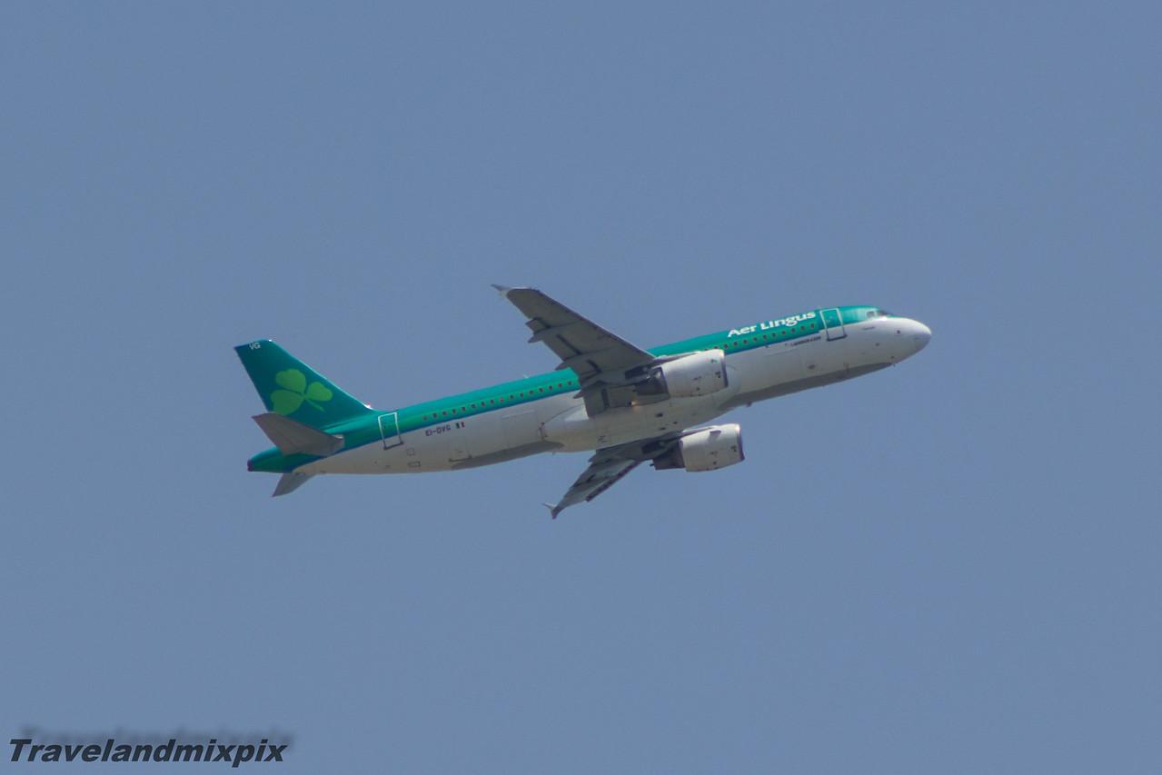 EI-DVG Airbus A320-214 Aer Lingus Malaga Airport 01/07/2015