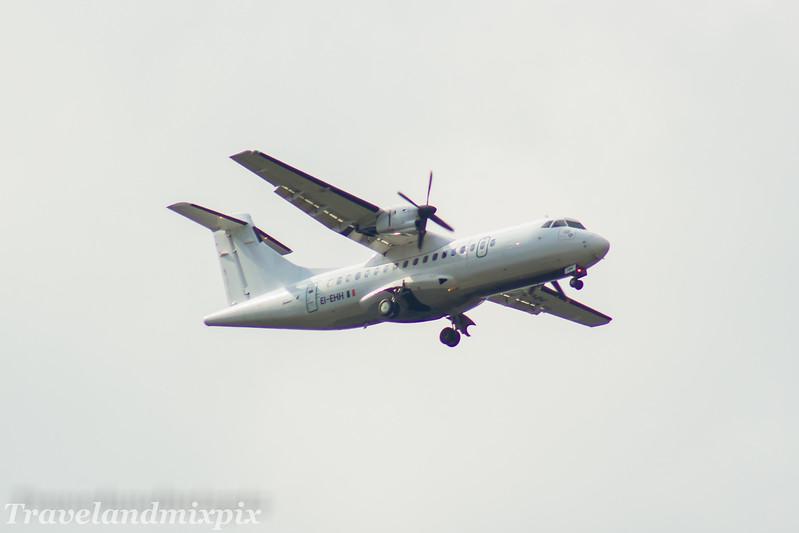 EI-EHH<br> Stobart Air<br> ATR 42-300<br> Glasgow Airport<br> 30/04/2017<br> <i>On an Aer Lingus Regional service</i>