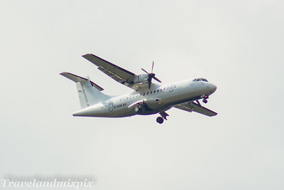 EI-EHH Stobart Air ATR 42-300 Glasgow Airport 30/04/2017 On an Aer Lingus Regional service