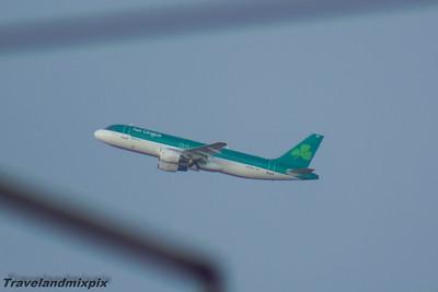 EI-DVJ Airbus A320-214 Aer Lingus Glasgow Airport 29/01/2016