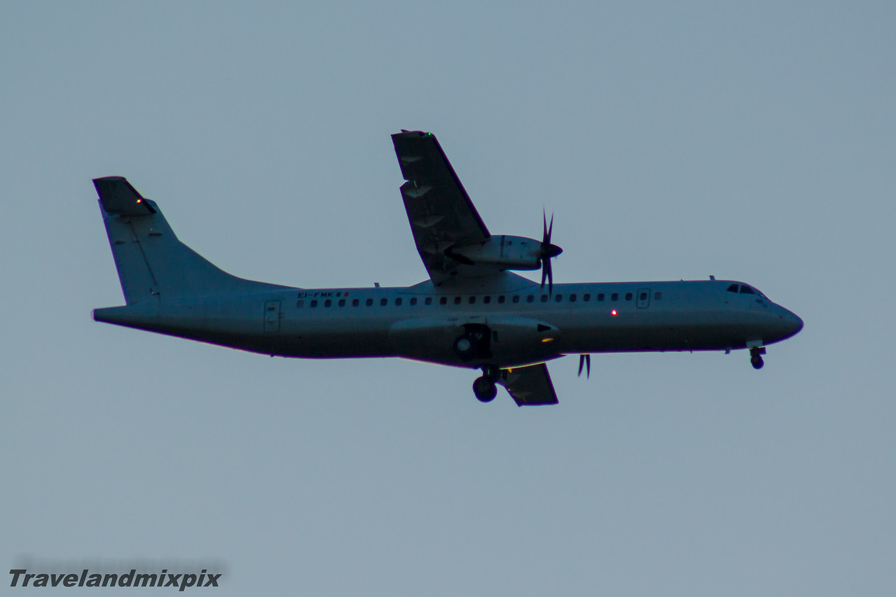 EI-FMK Stobart Air ATR 72-600 Glasgow Airport 13/05/2016 On an Aer Lingus Regional service