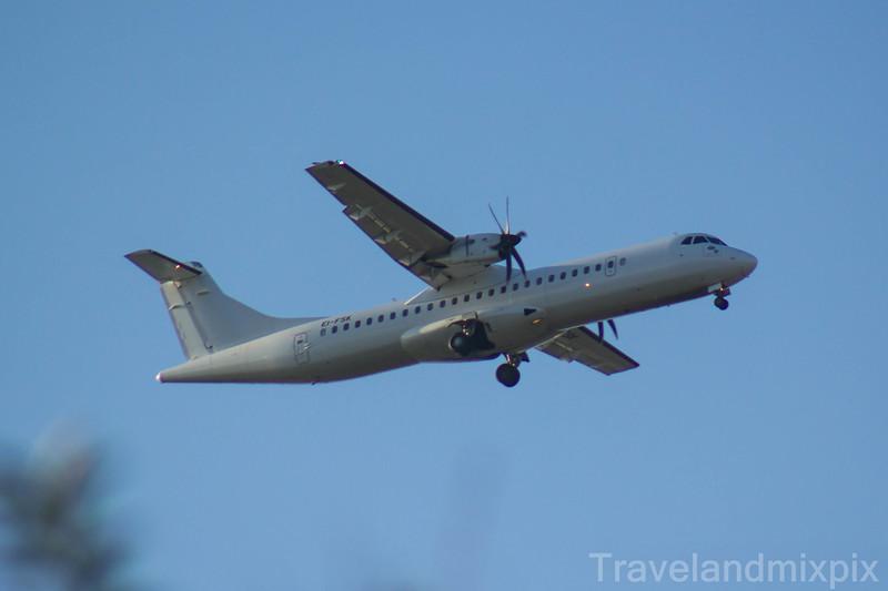 EI-FSK<br> Stobart Air<br> ATR 72-600<br> Glasgow Airport<br> 25/02/2018<br> <i>On a service for Aer Lingus Regional</i>