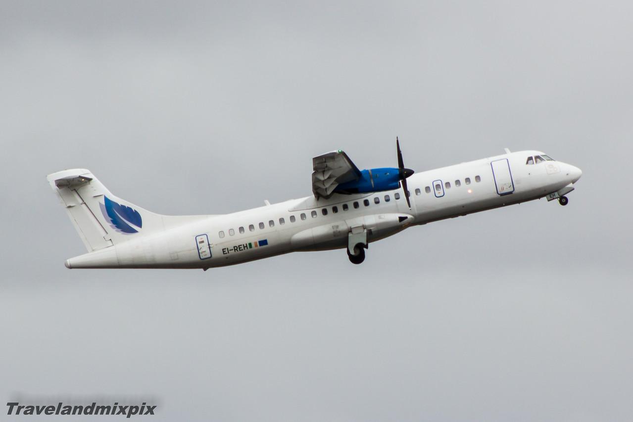EI-REH Stobart Air ATR 72-202 Glasgow Airport 28/03/2015 On an Aer Lingus Regional service