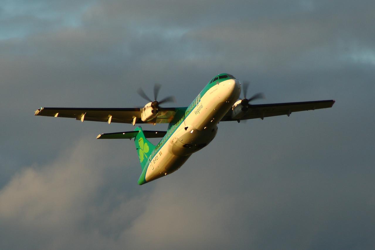 EI-FCY Aer Lingus Regional (Stobart Air) ATR 72-600 Glasgow Airport 29/06/2014