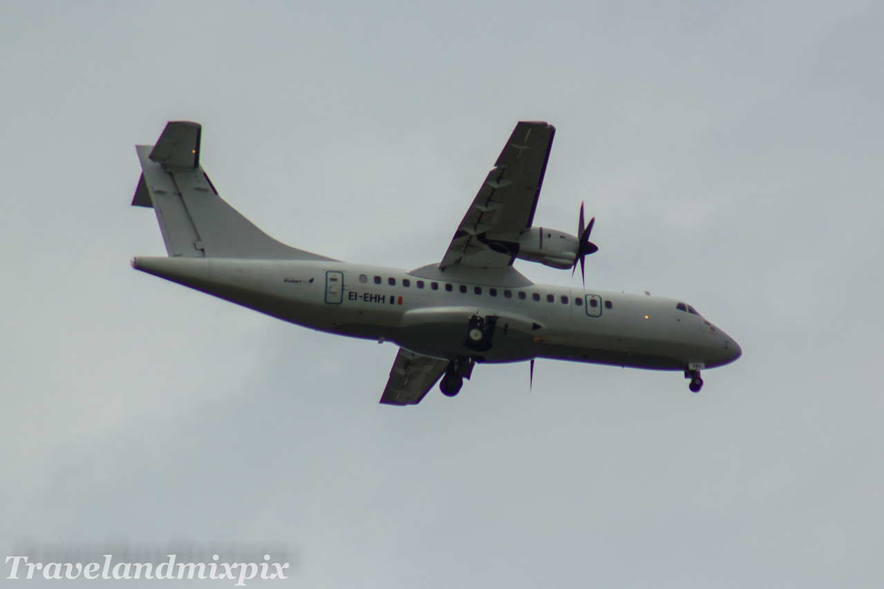 EI-EHH Stobart Air ATR 42-300 Glasgow Airport 23/07/2017 On an Aer Lingus Regional service