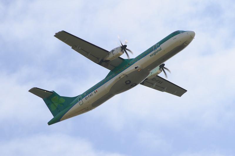 EI-FAX Aer Lingus Regional (Stobart Air) ATR 72-600 Glasgow Airport 03/09/2014