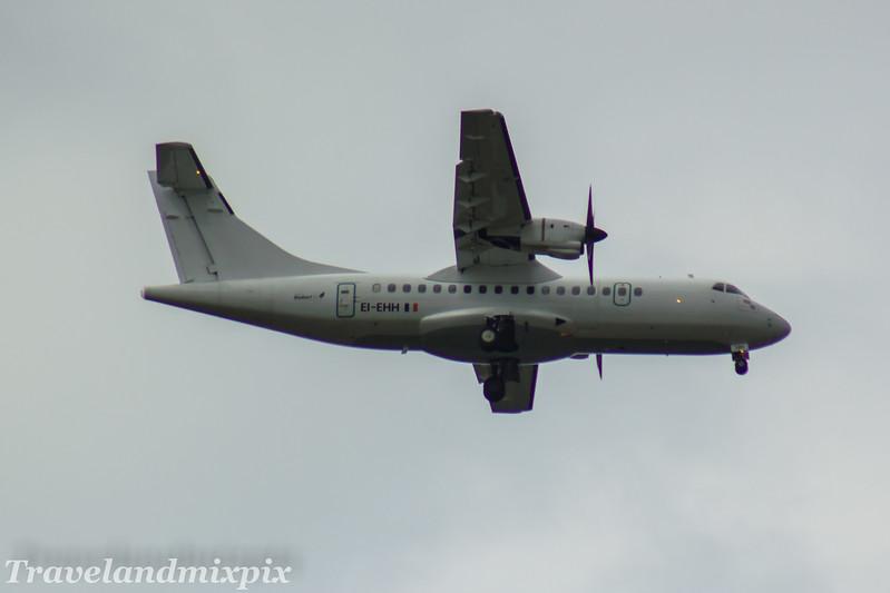 EI-EHH Stobart Air ATR 42-300 Glasgow Airport 23/07/2017 On an Aer Lingus Regional service