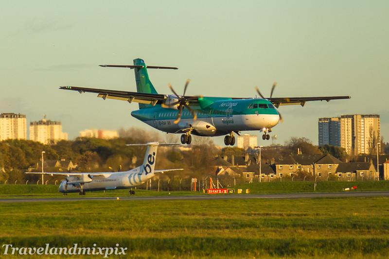 EI-FAV Aer Lingus Regional (Stobart Air) ATR 72-600 Glasgow Airport 05/11/2017