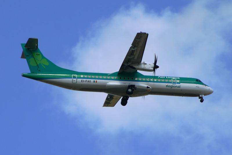EI-FAX Aer Lingus Regional (Stobart Air) ATR 72-600 Glasgow Airport 01/07/2014