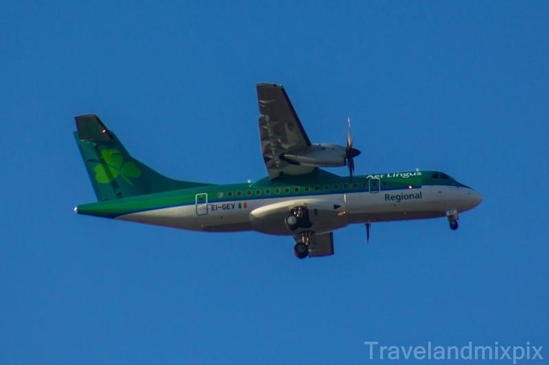EI-GEV Aer Lingus Regional (Stobart Air) ATR 42-600 Glasgow Airport 25/02/2018