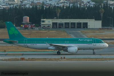 EI-DER Airbus A320-214 Aer Lingus Malaga Airport 01/07/2015