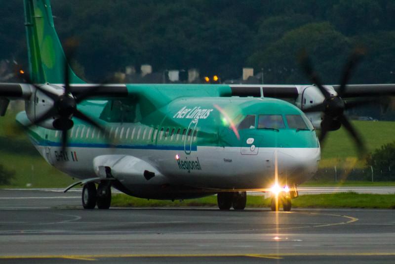 EI-FAX Aer Lingus Regional (Stobart Air) ATR 72-600 Glasgow Airport 19/08/2016
