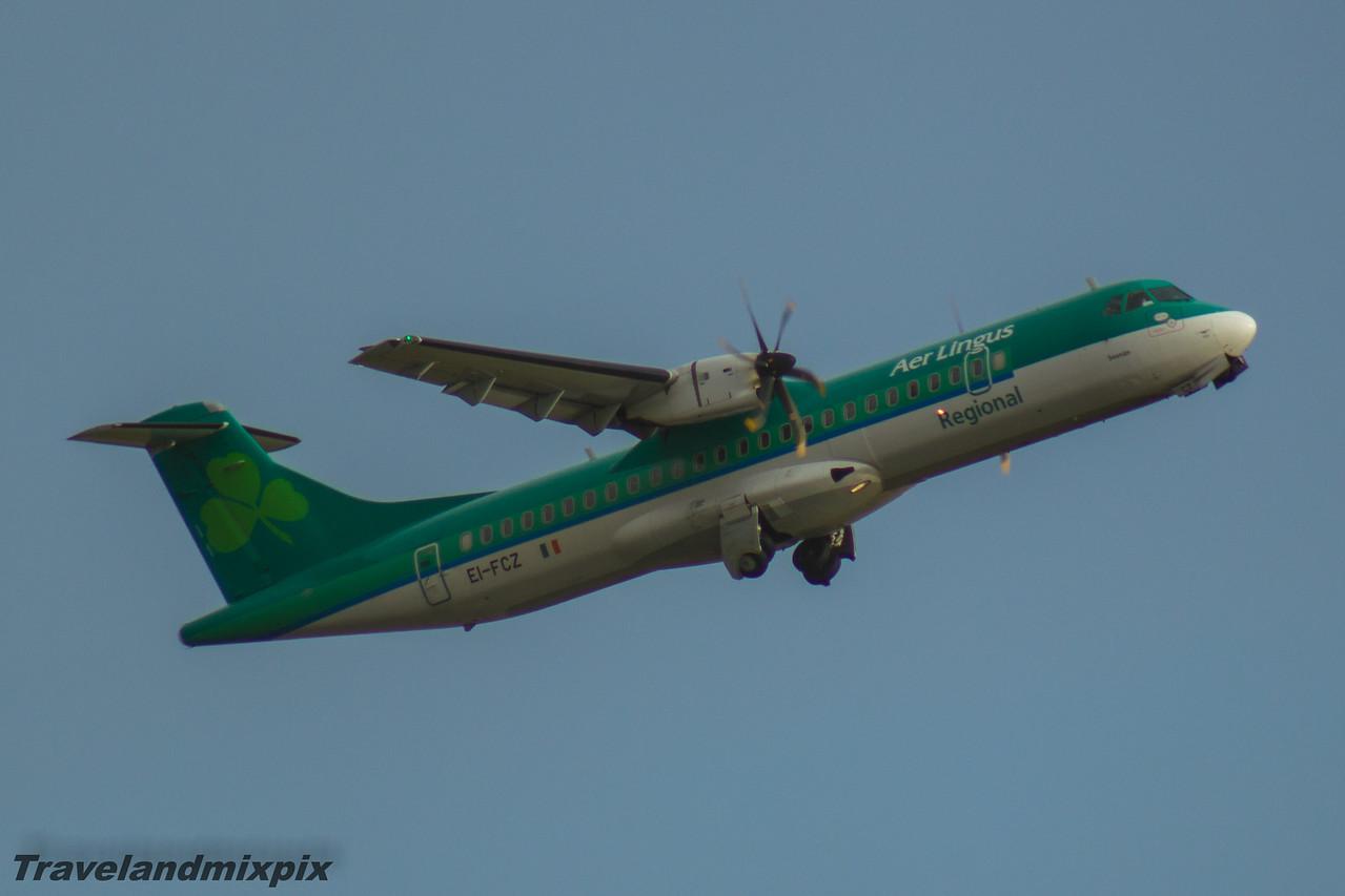 EI-FCZ Aer Lingus Regional (Stobart Air) ATR 72-600 Glasgow Airport 30/01/2016