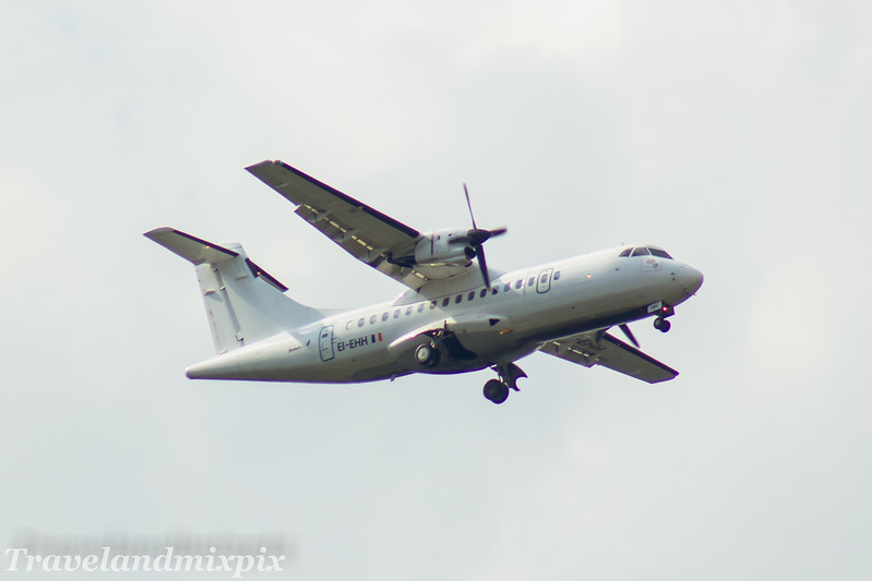 EI-EHH<br> Stobart Air<br> ATR 42-300<br> Glasgow Airport<br> 30/04/2017<br> <i>On an Aer Lingus Regional service</i>