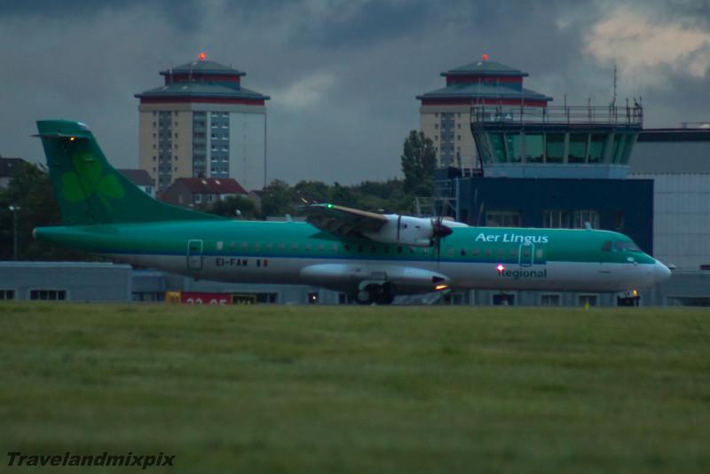 EI-FAW Aer Lingus Regional (Stobart Air) ATR 72-600 Glasgow Airport 26/06/2016