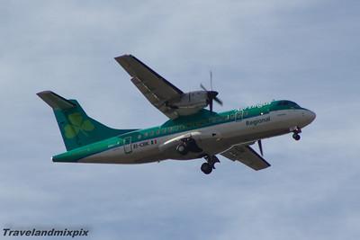 EI-CBK Aer Lingus Regional (Stobart Air) ATR 42-300 Glasgow Airport 19/04/2015