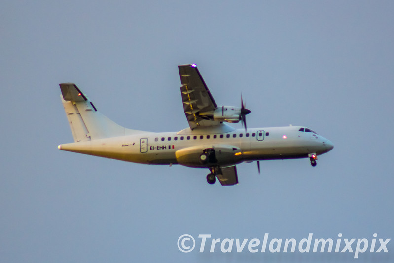 EI-EHH Stobart Air ATR 42-300 Glasgow Airport 01/01/2017 On an Aer Lingus Regional service