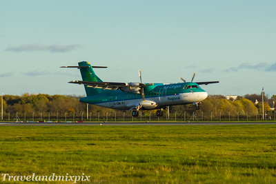 EI-CBK Aer Lingus Regional (Stobart Air) ATR 42-300 Glasgow Airport 05/11/2017 Withdrawn February 2018