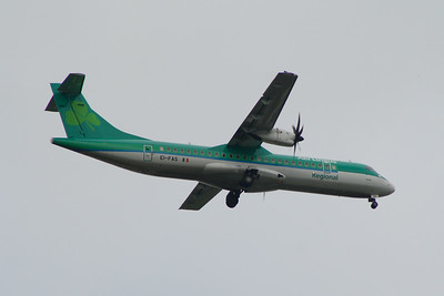 EI-FAS Aer Lingus Regional (Stobart Air) ATR 72-600 Glasgow Airport 15/06/2014