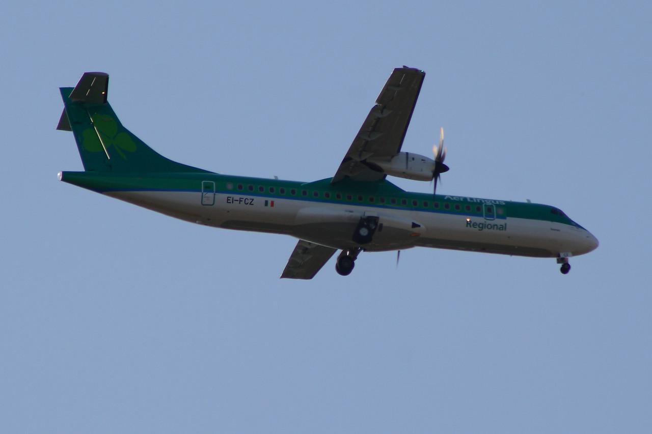 EI-FCZ Aer Lingus Regional (Stobart Air) ATR 72-600 Glasgow Airport 23/07/2014