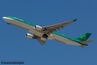 EI-EAV Airbus A330-302 Aer Lingus Malaga Airport 27/06/2015