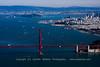 Entering San Francisco Bay from the Air