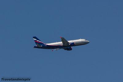 VQ-BAY Aeroflot Airbus A320-214 Malaga Airport 29/06/2015