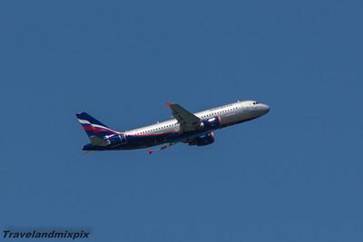 VQ-BBC Aeroflot Airbus A320-214 Malaga Airport 28/06/2015