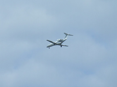 An Air Charter Scotland (Sloane) Cessna 525A Citation CJ2+ (G-ODAG) on approach to Glasgow Airport. Now in use with Centreline Air Charter.