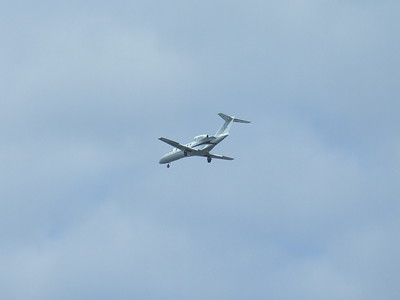 G-ODAG An Air Charter Scotland (Sloane) Cessna 525A Citation CJ2+ on approach to Glasgow Airport