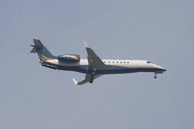 G-WCCI An Air Charter Scotland Embraer EMB-135BJ Legacy on the approach to Glasgow Airport.
