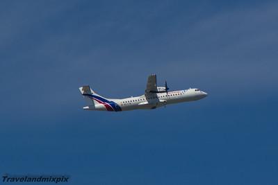 EC-LYB Air Europa ATR 72-500 Malaga Airport 24/06/2015 Leased from Swiftair