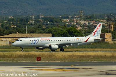 EC-LXV Air Europa (Aeronova) Embraer ERJ-195LR (ERJ-190-200 LR) Palma de Mallorca Airport 04/07/2017
