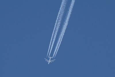 Air France  Airbus A380-861  On a service from Paris Charles de Gaulle to San Francisco at 36,000 feet.