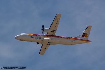 EC-LQV Air Nostrum (Iberia Regional) ATR 72-600 Malaga Airport 24/06/2015