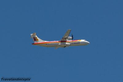EC-LRR Air Nostrum (Iberia Regional) ATR 72-600 Malaga Airport 26/06/2015