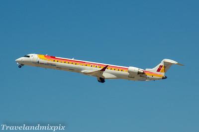 EC-JYV Air Nostrum (Iberia Regional)  Canadair CL-600-2D24 Regional Jet CRJ-900  Palma de Mallorca Airport 04/07/2017 Withdrawn in November 2017