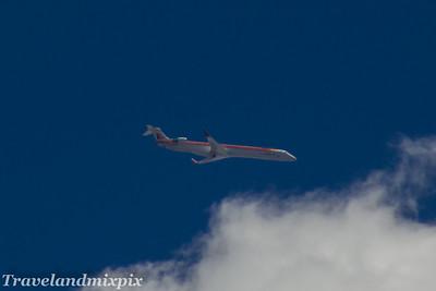 EC-LOV Air Nostrum (Iberia Regional)  Canadair CL-600-2E25 Regional Jet CRJ-1000  Palma de Mallorca Airport 28/06/2017 On a short haul service from Ibiza to Palma de Mallorca