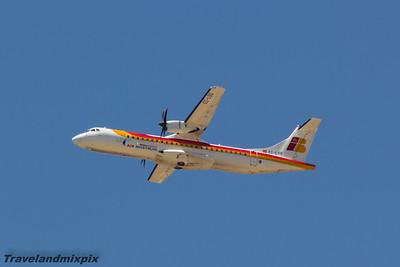 EC-LSQ Air Nostrum (Iberia Regional) ATR 72-600 Malaga Airport 27/06/2015