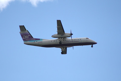 G-WOWA Air Southwest de Havilland Canada DHC-8-311 Dash 8 Glasgow Airport 18/07/2011