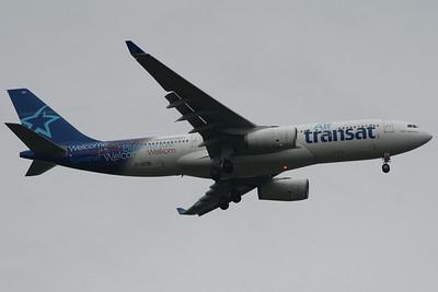 C-GTSI Air Transat Airbus A330-243 Glasgow Airport 25/06/2014