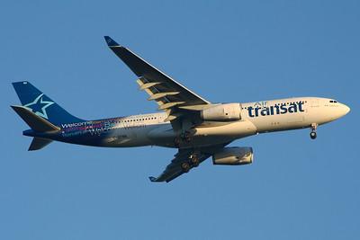 C-GTSN Air Transat Airbus A330-243 Glasgow Airport 27/08/2014