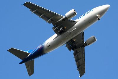 C-GFAT Air Transat Airbus A310-304 Glasgow Airport 28/06/2014