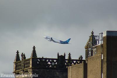 C-GITS Air Transat Airbus A330-243 Glasgow Airport 09/03/2017 The Azores Glider.