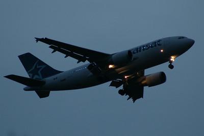 C-GTSY Air Transat Airbus A310-304 Glasgow Airport 06/06/2014