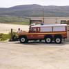Fire Tender No.1 at Barra Airport,  a Land Rover Defender 127/Carmichael 6x6